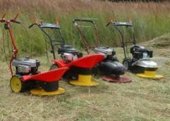 Bubnové sekačky na přerostlou trávu