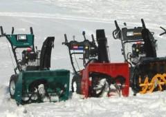 Sněhové frézy. Jakou budete potřebovat?