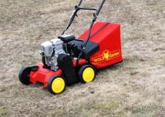 Benzinové vertikutátory – Jak vyčistit po zimě trávník?