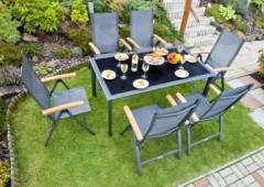 Zahradní nábytek z hliníku