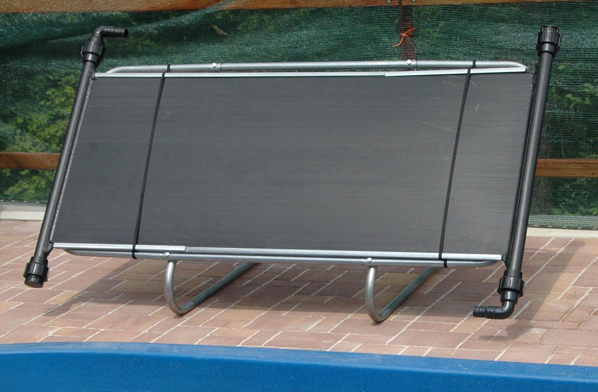 solární panel bazénu připojte