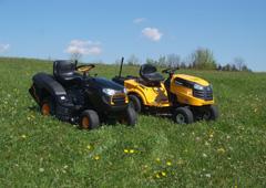 Zahradní traktory pro střední plochy