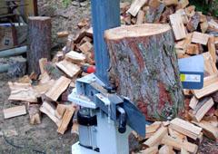 Štípače 10 T – Snadné štípání dřeva