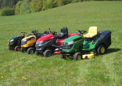 Zahradní traktory pro údržbu velkých ploch
