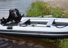 Nafukovací čluny 360-400 cm s motorem