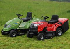 Zahradní traktory pro velké plochy